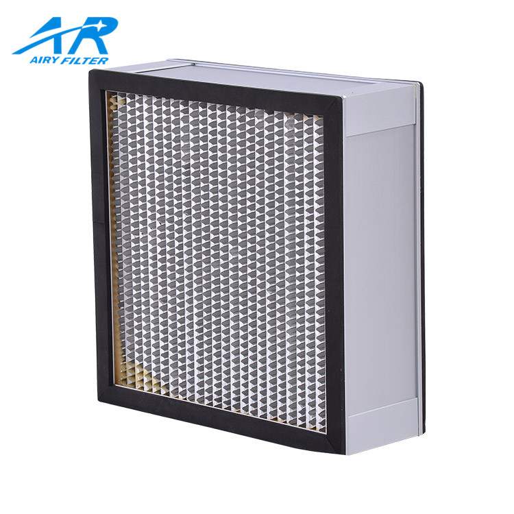 Aluminum-Frame High Efficiency Ventilation System Hepa Air Filter For Air Purifier/Hepa Filter For Vacuum Cleaner