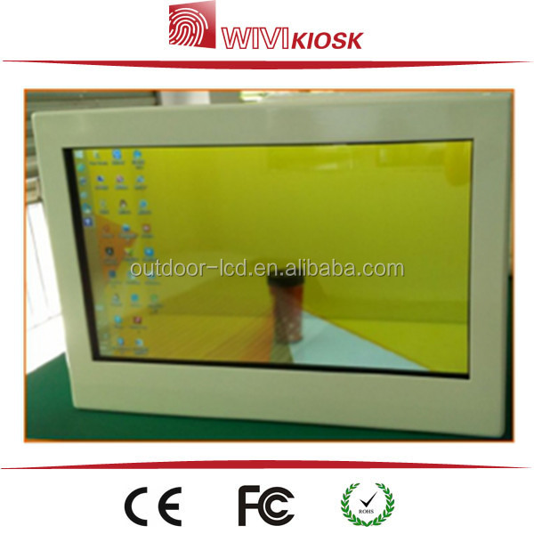 Indoor Application and TFT Type Built-in see through transparent LCD display