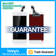 White color mobile phone screen replacement for apple iphone 5c lcd