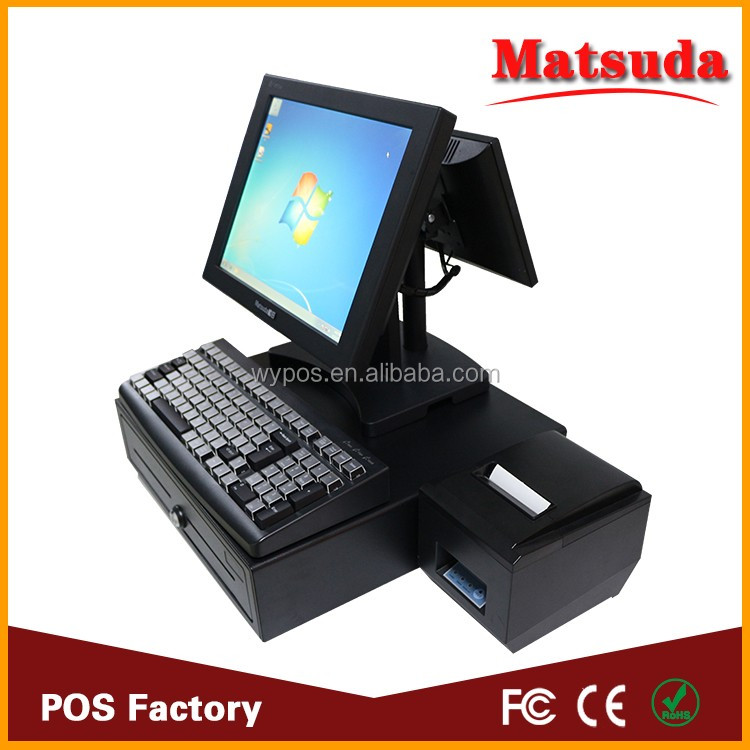 Pos Manufacturer Supply Computer All in One Point of Sale Equipment with Retail/ Restaurant Pos Software