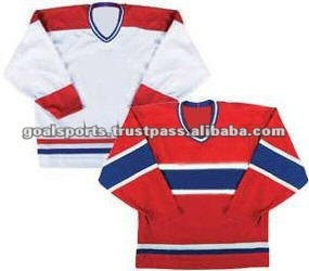 100% Polyester ice Hockey jersey