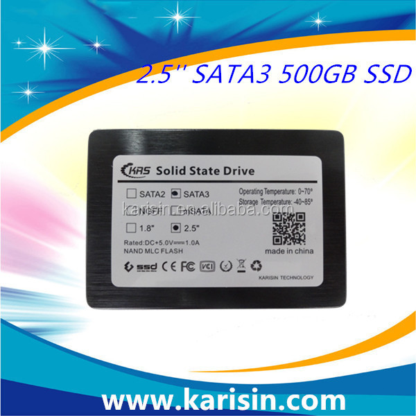 Karisin Internal Hard Disk Drive SATA 2 5 500gb ssd