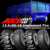 12.5/80-18 Farm Implement Trailer Tire