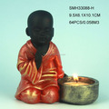 2014 New baby monk candle tea light holder.