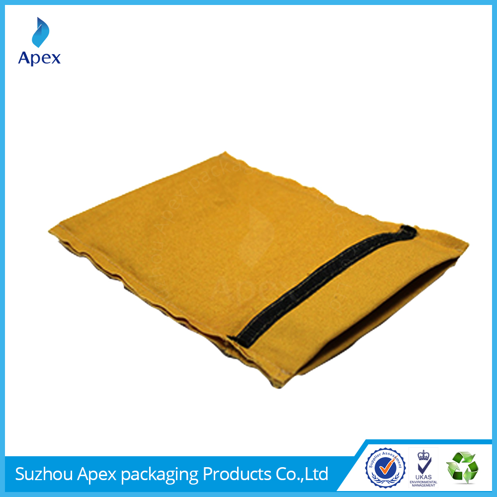 Wholesale suede cell phone bag