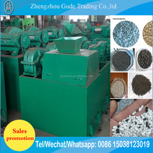 double roller NPK pellet pelletizer /compound fertilizer comminutor machine
