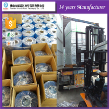 Packing Factory Accept Customized PVC plastic wrap packaging sleeve material