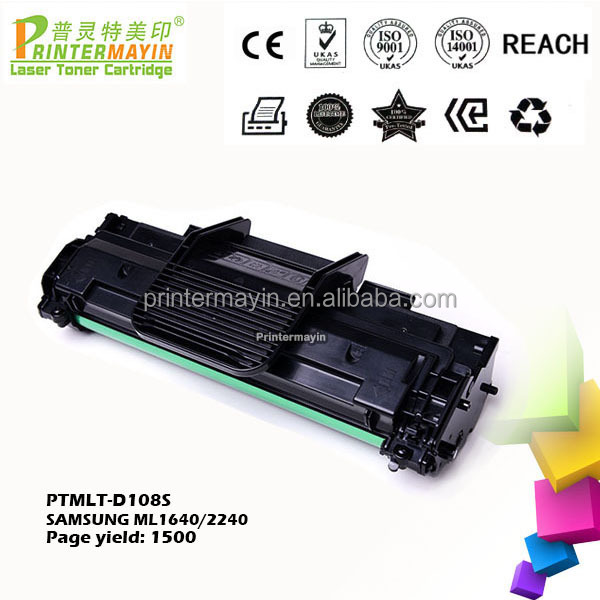 Compatible Laser Printer MLT 108 Toner Cartridge FOR SAMSUNG ML1640 / 2240 (PTMLT-D108S)