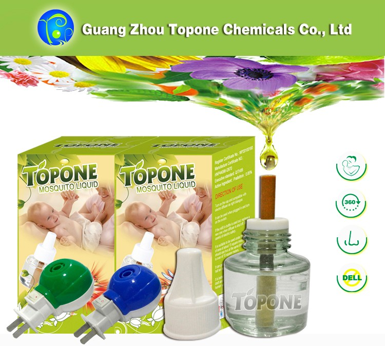 Topone Factory Price Electric Mosquito Killer, Mosquito Repellent Liquid, Vaporizer Insect Trap