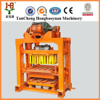 qtj4-40 Cement Block Making Machine/ Hollow Blocks Making Machinery/ Cheap Small Capacity Brick Machine Suitable For Home