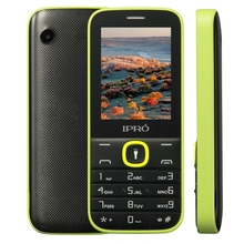 "IPRO I324F 2.4"" simple bar mobile Phones torch MP3 MP4 FM camera phone with mini keypad"