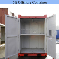 DNV Offshore 5 ft Containers with Shelves and Sling