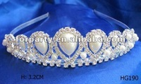 CG-HG190 fashion pageant wedding king tiara crown