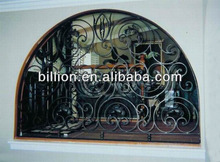 2014 manufacture steel iron window gate factory hebei