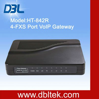 FXS Gateway HT-842R / g711 voip codec/fxs telephone adapter