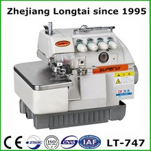 5 thread high speed overlock used sewing machine double needle price LT-757