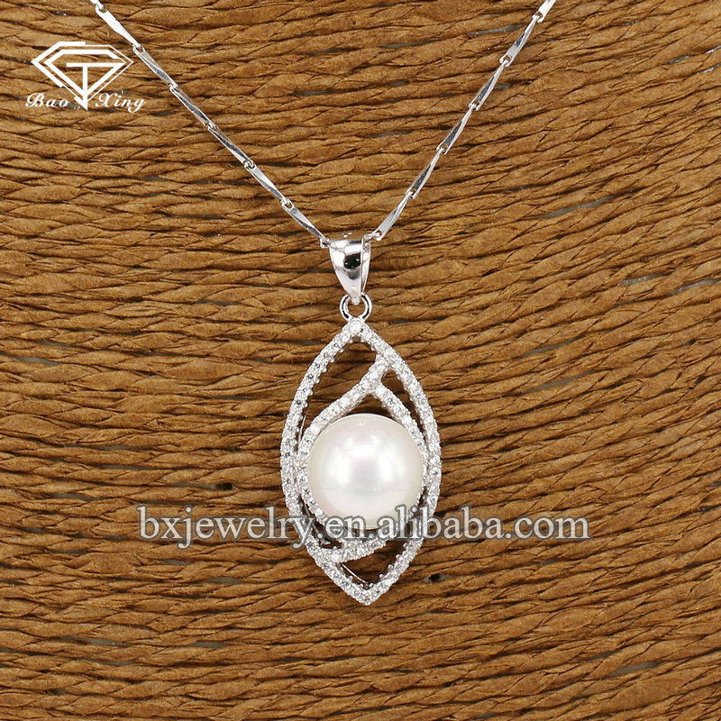 Hot selling wholesale products 925 sterling silver gem stone pendant