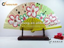 Wooden Hand Fan Handicraft (QL-4187)