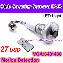 Only USD27! hidden camera light bulb with remote control and motion detection