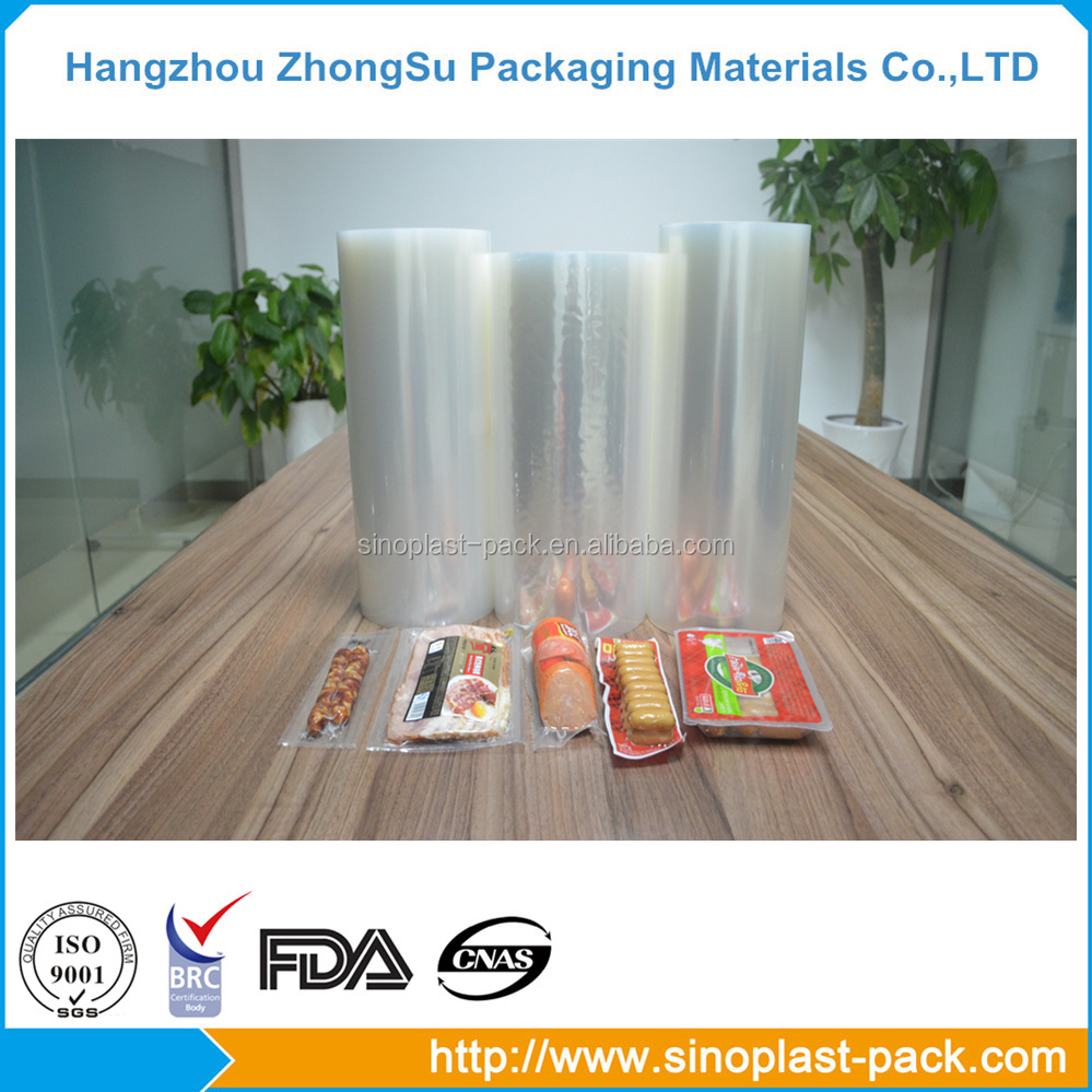 food grade clear wrapping hot forming stretch roll film
