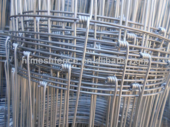 Galvanized Steel Hinge Joint Cattle Field Wire Fence Mesh