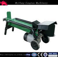 High Quality Horizontal Log Splitter Electric Log Splitter Hydraulic Wood Log Cutter and Splitter