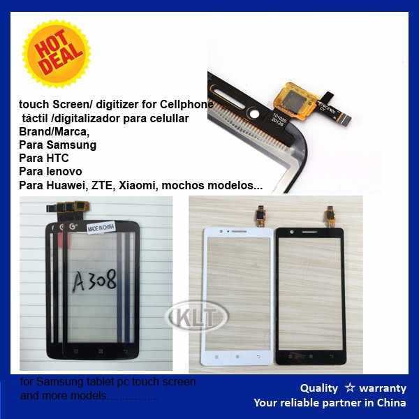 Frame Display for HTC front glass Touch Screen Assembly For HTC Titan / Eternity / X310e mobile accessory