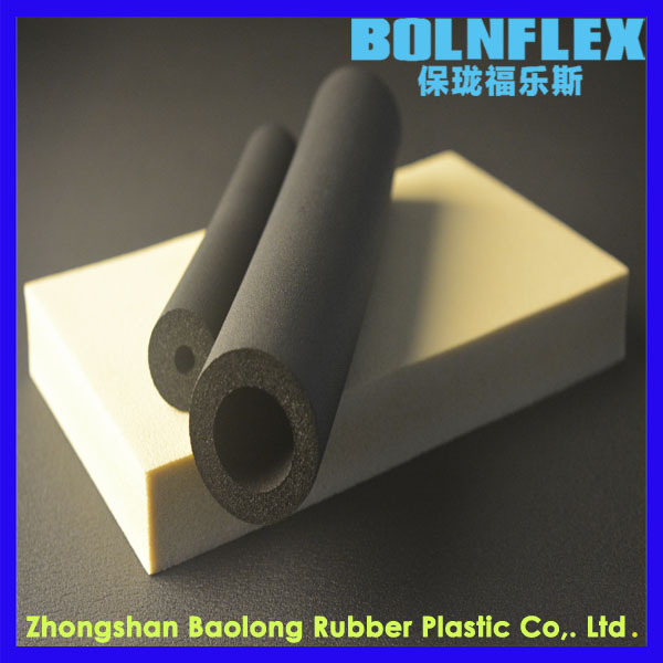 High Quality Air Conditioner Tube Insulation Rubber Foam/Insulation Pipe