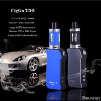 most needed products bauway mini mod portable handy powerful 50w CigGo mod kit cheap