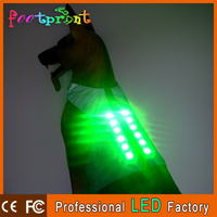 USB rechargeable reflective dog safety clothes