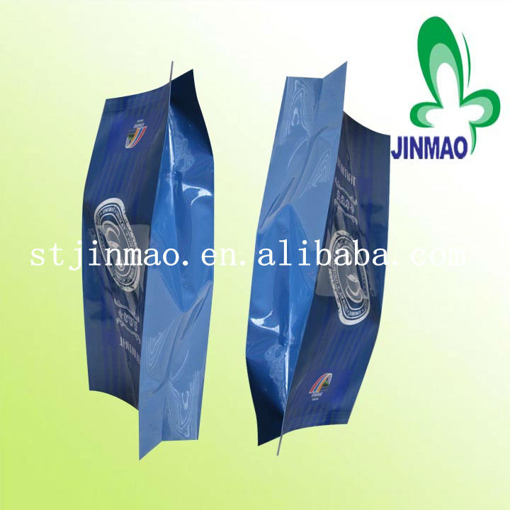 China plastic flexible printed packaging bags manufacturer/coffee bag/tea bag