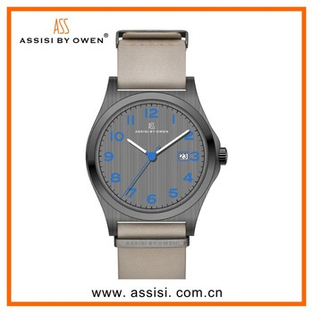 Assisi brand South America Hot selling watch with genuine leather