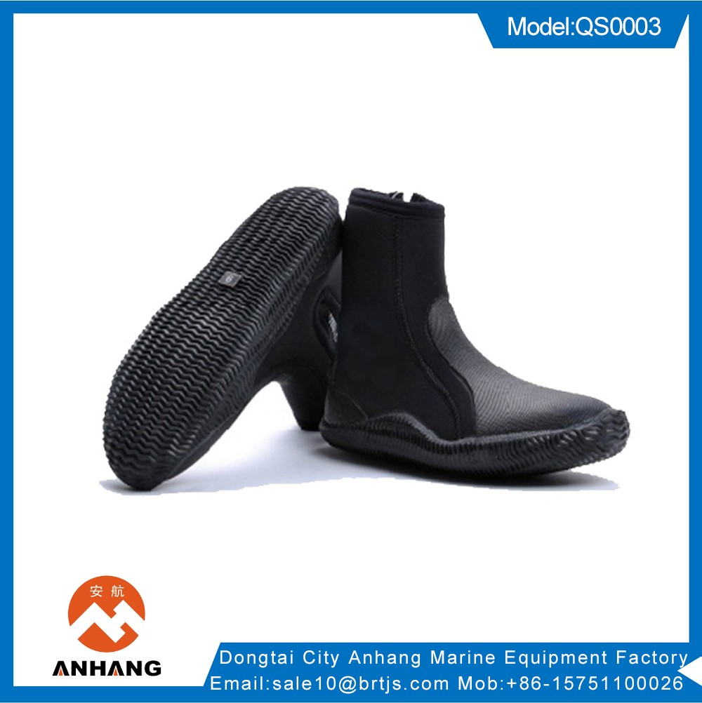 Diving equipment 5mm Neoprene Zipper Diving Boot
