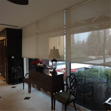 Excellent quality and price clear pvc and fiberglass fabric window roller blind curtain