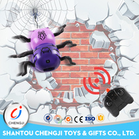 Best price smart universal rc wall climbing spider remote control toy