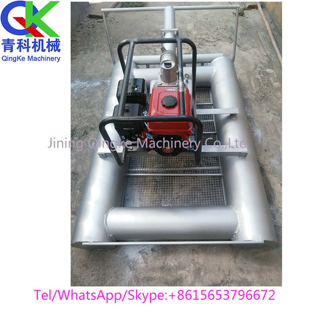 High pressure flushing Lotus root Water chestnuts harvester Picking equipment sale
