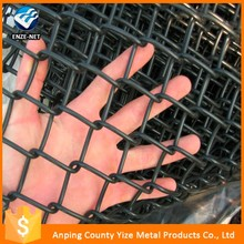Multifunctional astm f668 standard vinyl coated chain link fence with fused and bonded fabric