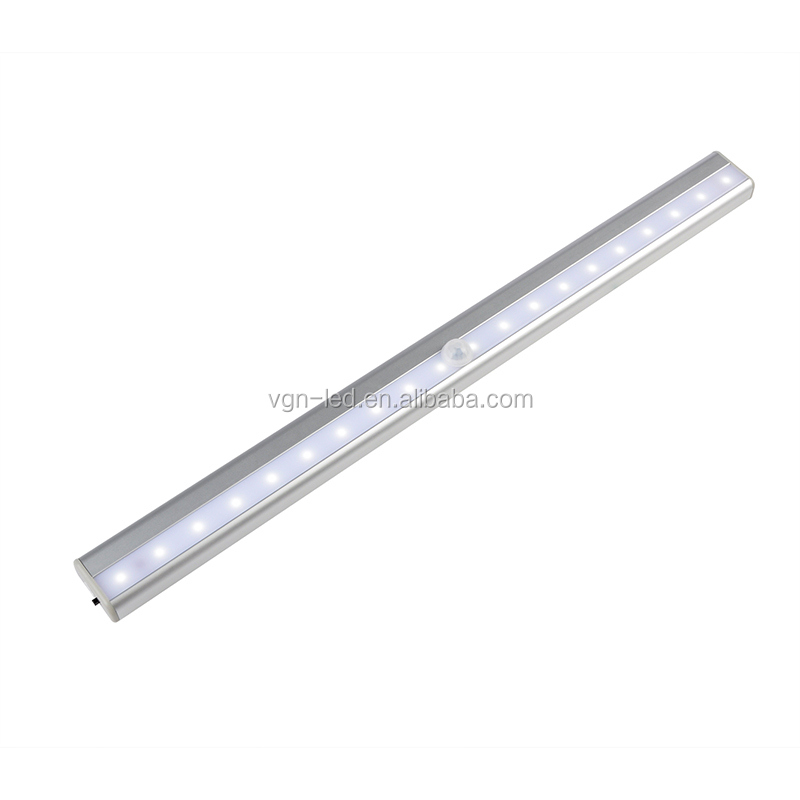 Rechargeable Built-in Lithium Battery Powered LED sensor Light, Lighting Closet Cabinet Bathroom Stairway Hallway Light