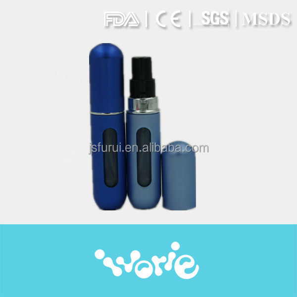 Mini travel Refillable perfume atomizer spray bottle