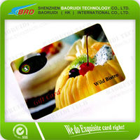 Plastic Halloween Gift Cards