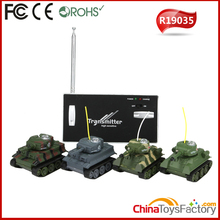 R19035 Twin Pack RC Battle Tanks Mini RC Tank Tamiya