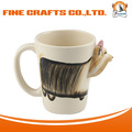 High Quality Cute Design Product 3D Ceramic Coffee Mug Wholesale