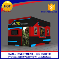 Canton Fair Hot Attractive 5D Cinema Sound System In China With Simulator Movies