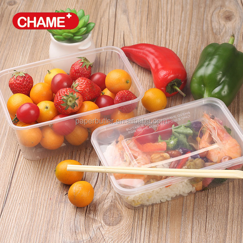 650ml transparent food container / 650ml takeaway food box