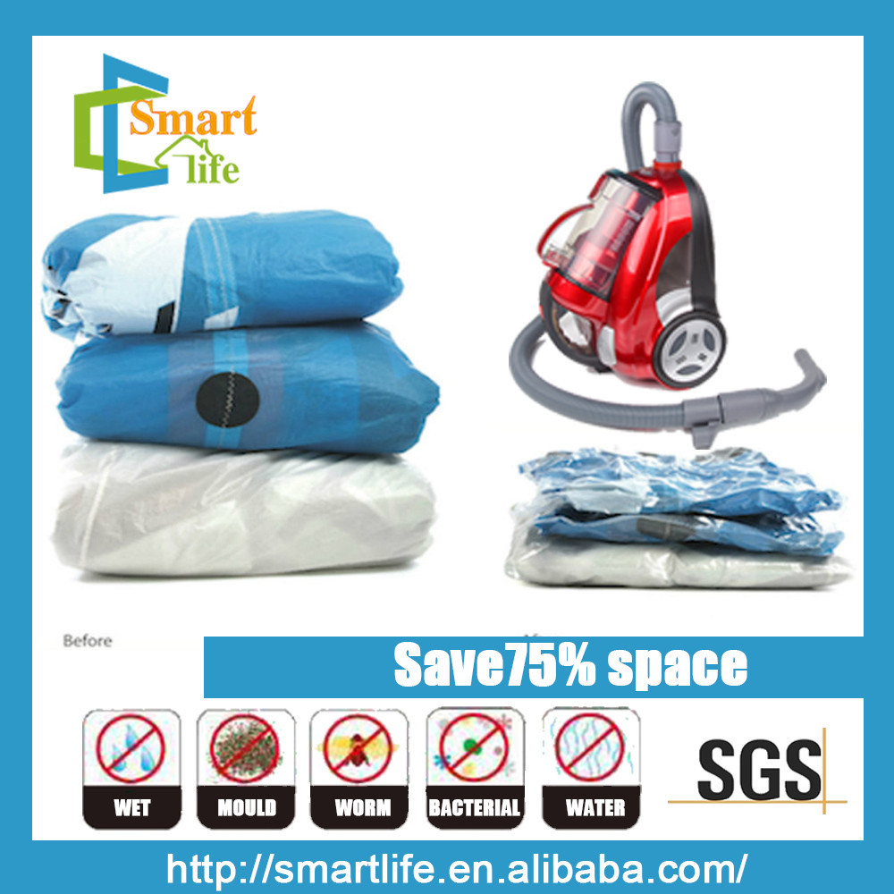 PET PE 7wire travel vacuum pack bags