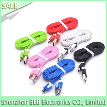 Wholesale 2Amps micro usb cable for android mobile samsung micro cable
