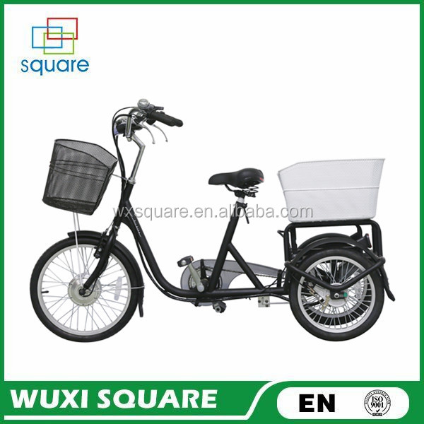 Three wheels electric bike/Tricycle e-bike/electric bicycle