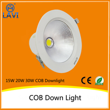 aluminum 15W built in driver led down light cool white (CCT) changing dimmable AC85-265V Epistar COB SAA CE ROHS