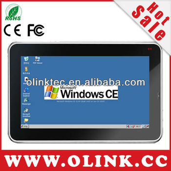 Olink M768: mobile embedded panel pc with WinCE 6.0 OS,7 inch Touch LCD, WiFi, RS22, Battery