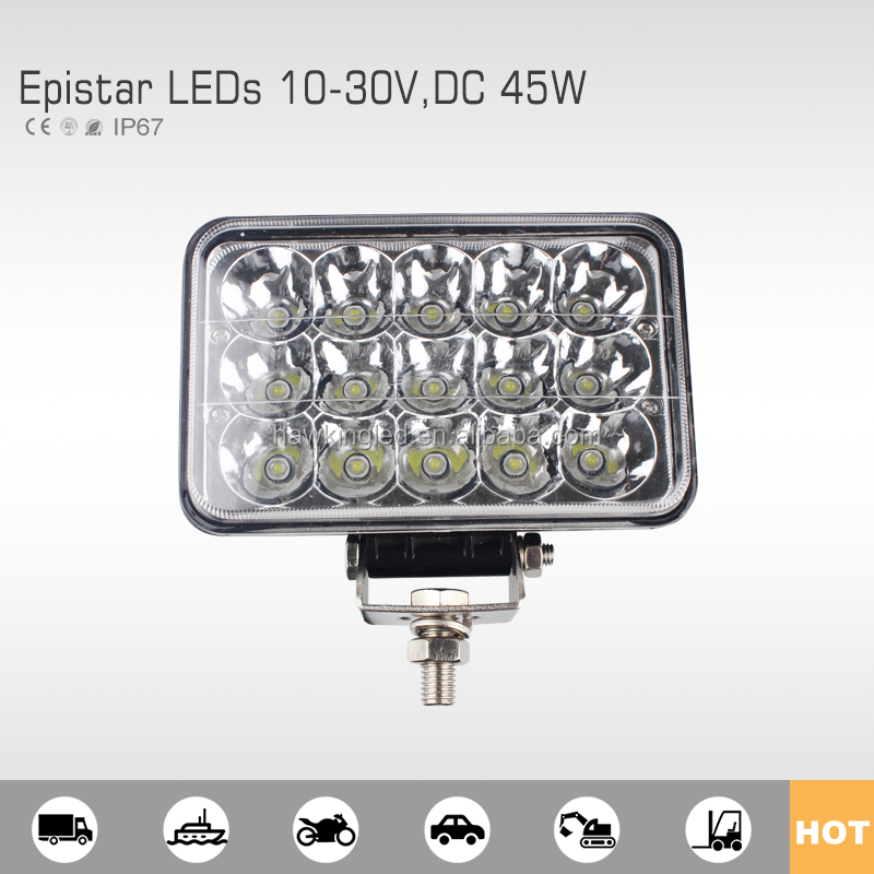 Offroad 45W high /low beam auto led work light IP67